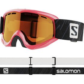 Salomon Juke Access Goggles Kinder pink/tonic orange